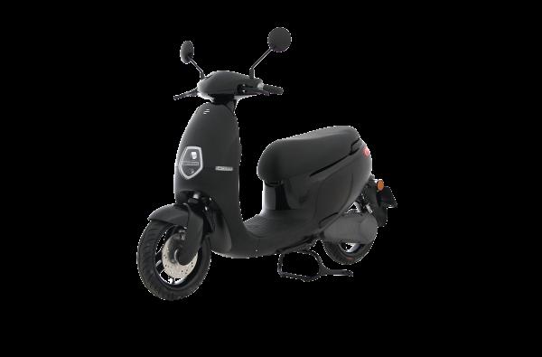 Ecooter E1 zwart 2020